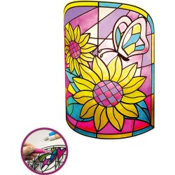 Color-Your-Own LED Flower Lamp found on Bargain Bro India from HearthSong for $15.98