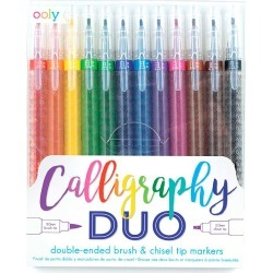Calligraphy Duo Double-Ended Markers (set of 12) found on Bargain Bro India from HearthSong for $16.98
