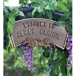 Personalized Arbor Plaque found on Bargain Bro India from Plow & Hearth for $49.95