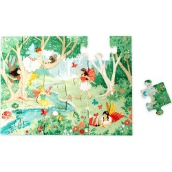 24-Piece Wooden Fairy-Themed Puzzle found on Bargain Bro from HearthSong for USD $11.38