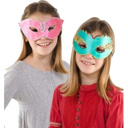 Party Fun Eye Masks Kit found on Bargain Bro India from HearthSong for $2.99