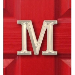 Sand-Cast Monogram Door Knocker By Michael Healy found on Bargain Bro India from Plow & Hearth for $59.95