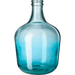 Ocean Blue Recycled Glass Vase, Tall found on Bargain Bro Philippines from Plow & Hearth for $59.95