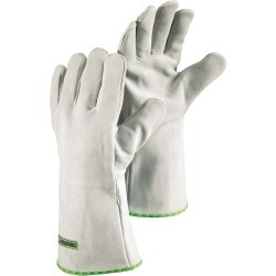 Long Heavy-Duty Fire-Resistant Safety Gloves