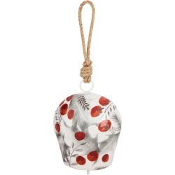 Berries and Leaves Metal Bell Chime