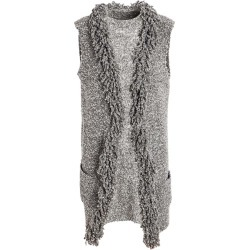 Fringed Vest - Gray - One Size Fits Most found on Bargain Bro Philippines from Plow & Hearth for $49.95