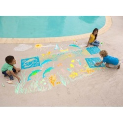 ChalkScapes® Under-the-Sea found on Bargain Bro India from HearthSong for $32.98