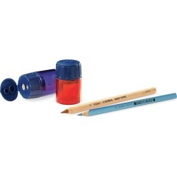 Set of 2 Two Hole Indispensable Pencil Sharpeners found on Bargain Bro India from HearthSong for $5.98