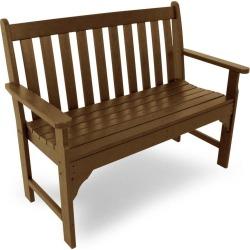 5' Poly-Wood Vineyard Outdoor Bench, in Teak