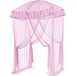 Sparkling Lights Canopy Bower for Kids Beds, in Pink found on Bargain Bro India from HearthSong for $69.98