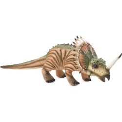 Giant Posable Styracosaurus Natural Latex Dinosaur found on Bargain Bro India from HearthSong for $39.98