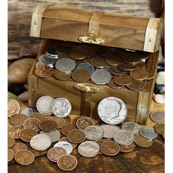 Treasure Chest Of Coins found on Bargain Bro Philippines from Plow & Hearth for $44.95