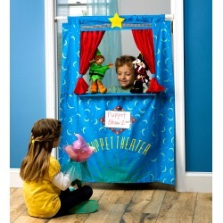 Doorway Puppet Theater found on Bargain Bro Philippines from HearthSong for $49.98