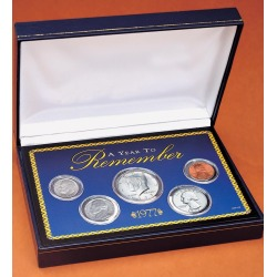 A Year To Remember Coin Set, 1965-Current Year found on Bargain Bro Philippines from Plow & Hearth for $39.95
