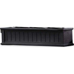 Lexington Self-Watering Window Box with Hanging Brackets, 3'L found on Bargain Bro India from Plow & Hearth for $129.95