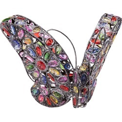 Solar Butterfly Light with Colorful Jewels found on Bargain Bro India from Plow & Hearth for $69.95