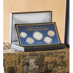 A Year To Remember Coin Set, 1934-1964 found on Bargain Bro Philippines from Plow & Hearth for $79.95