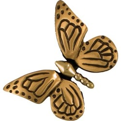 Sand-Cast Butterfly Doorbell Ringer, in Oil/Rubbed Bronze found on Bargain Bro India from Plow & Hearth for $89.95