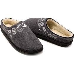 Acorn Talara Mule Slippers, in Charcoal Heather Size S (5-6) found on Bargain Bro Philippines from Plow & Hearth for $54.95