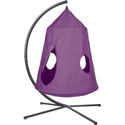 HugglePod HangOut Special, Includes HugglePod Hanging Chair and Mighty Crescent Stand found on Bargain Bro Philippines from HearthSong for $249.00