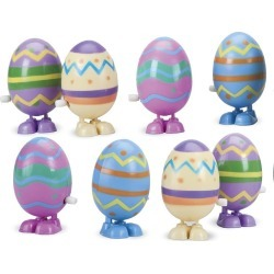 Wind-Up Hopping Eggs, set of 8 found on Bargain Bro India from HearthSong for $14.98