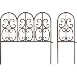 Montebello Wrought Iron Garden Edging found on Bargain Bro Philippines from Plow & Hearth for $79.95