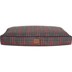 Pet Napper Grey Stewart Plaid Pet Bed, Large found on Bargain Bro Philippines from Plow & Hearth for $139.95