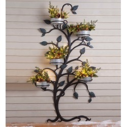 Hanging Tree Trellis with Pot Holders found on Bargain Bro India from Plow & Hearth for $219.95