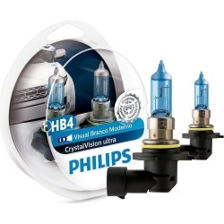 Kit Lâmpada Philips Crystal Vision Ultra Hb4 55W 12v 4300k found on Bargain Bro Philippines from PneuStore for $81.20