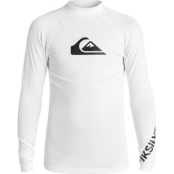 Boy's 8-16 All Time Long Sleeve UPF 50 Rash Guard found on Bargain Bro India from Quicksilver for $29.00