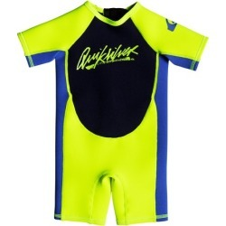 Boy's 2-7 1.5mm Syncro Short Sleeve Back Zip Springsuit found on Bargain Bro India from Quicksilver for $49.95