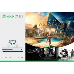 Assassin's Creed Origins 1TB Xbox One S Bundle - White found on Bargain Bro Philippines from rcwilley.com for $349.99