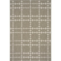 5 x 8 Medium Barley Tan Indoor-Outdoor Rug - Finesse-Tower Court found on Bargain Bro India from rcwilley.com for $169.99
