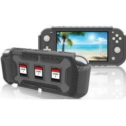 Nintendo Switch Lite Gray Armor Case found on GamingScroll.com from rcwilley.com for $19.99