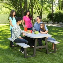 Lifetime 6 Foot A-Frame Folding Picnic Table found on Bargain Bro India from rcwilley.com for $369.99