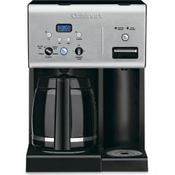 Cuisinart Coffee Plus 12 Cup Programmable Coffee Maker - Stainless.