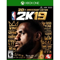 NBA 2K19 20th Anniversary Edition - Xbox One found on Bargain Bro Philippines from rcwilley.com for $84.97