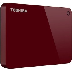 Red Toshiba Canvio Advance 2TB External Hard Drive found on Bargain Bro India from rcwilley.com for $69.99