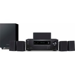 Onkyo 5.1 Channel Home Theater System with Receiver and Speakers found on Bargain Bro India from rcwilley.com for $299.99