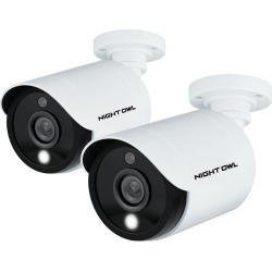 Night Owl Add-On 1080p HD Wired Cameras with Built-in Spotlights. found on Bargain Bro India from rcwilley.com for $79.99
