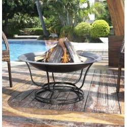 Traditional Outdoor Fire Pit - Buckner