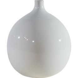 Magnolia Home Furniture Ivory Ceramic Squat Vase