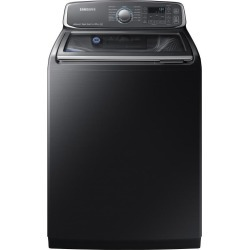 Samsung Top Load Washer - 5.2 cu. ft. Black Stainless Steel found on Bargain Bro India from rcwilley.com for $989.99