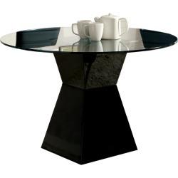 Modern Round Glass Dining Table - Mauna