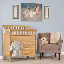 Classic Natural Changing Table & Dresser - Marcus