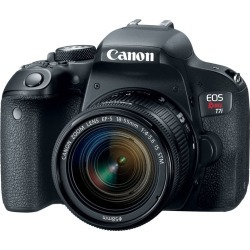 Canon EOS Rebel T7i DSLR Camera with 18-55mm Lens found on Bargain Bro India from rcwilley.com for $799.99
