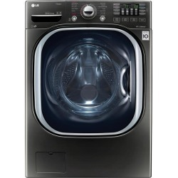 LG Front Load Washer - 4.5 cu. ft. Black Stainless Steel found on Bargain Bro India from rcwilley.com for $1169.99
