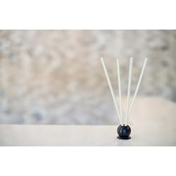 Black Mink 10 Piece Pre-Scented Sticks with Vase