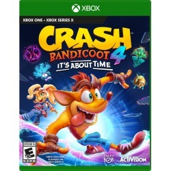 Crash Bandicoot 4: It's About Time - Xbox One, Xbox Series X found on Bargain Bro from rcwilley.com for USD $45.59