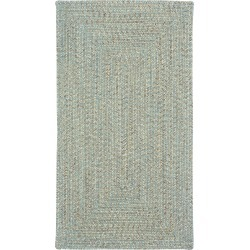 5 x 8 Medium Spa Green Braided Indoor-Outdoor Rug - Sea Glass found on Bargain Bro India from rcwilley.com for $449.00